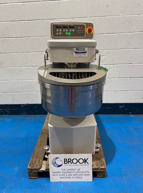 VMI 60FBF, 60KG DOUGH SPIRAL, TOUCH CONTROL PANLEL, CLEANED, SERVICED, GOOD ORIGINAL PAINT